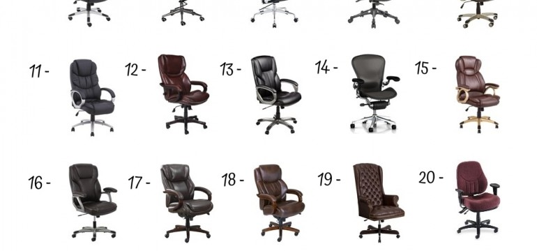 27 Best Executive Chairs