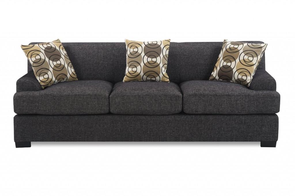 3 Pieces Faux Linen Sectional Sofa