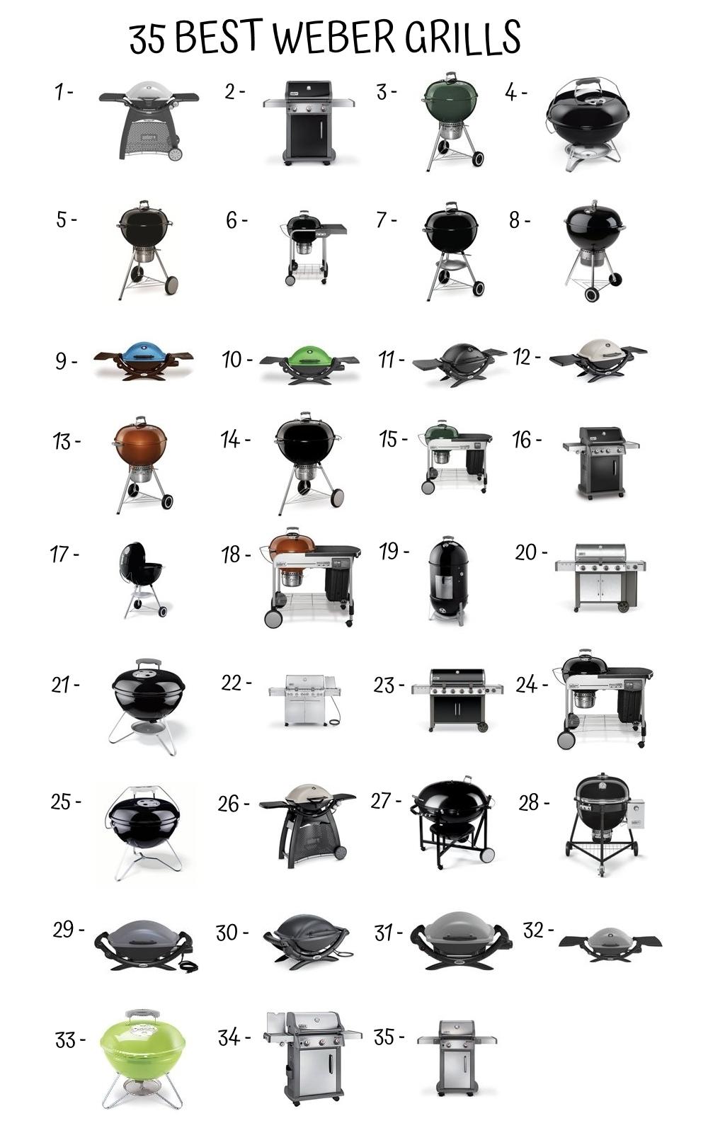 35 Best Weber Grills