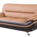 American Eagle Furniture Upholstered Leather Sofa