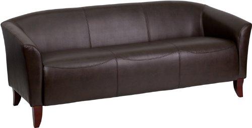 HERCULES Imperial Series Brown Leather Sofa