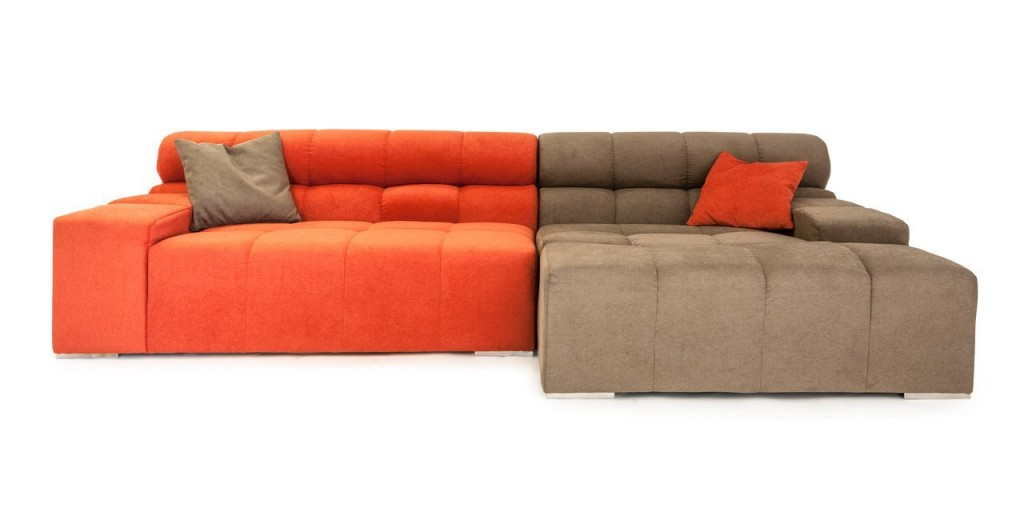 Kardiel Cubix Modern Modular Right Sectional Sofa