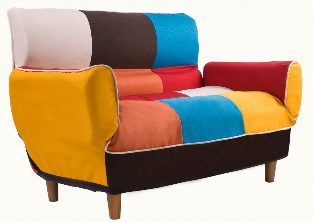 Merax 55 74 Multicolor Adjustable Loveseat Home Furniture Sofa