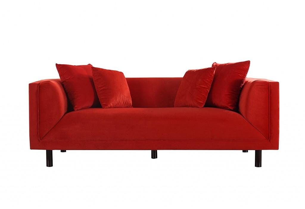 Mid Century Classic Velvet 3 Seater Sofa