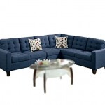 Modern Contemporary Polyfiber Fabric Modular Sectional Sofa
