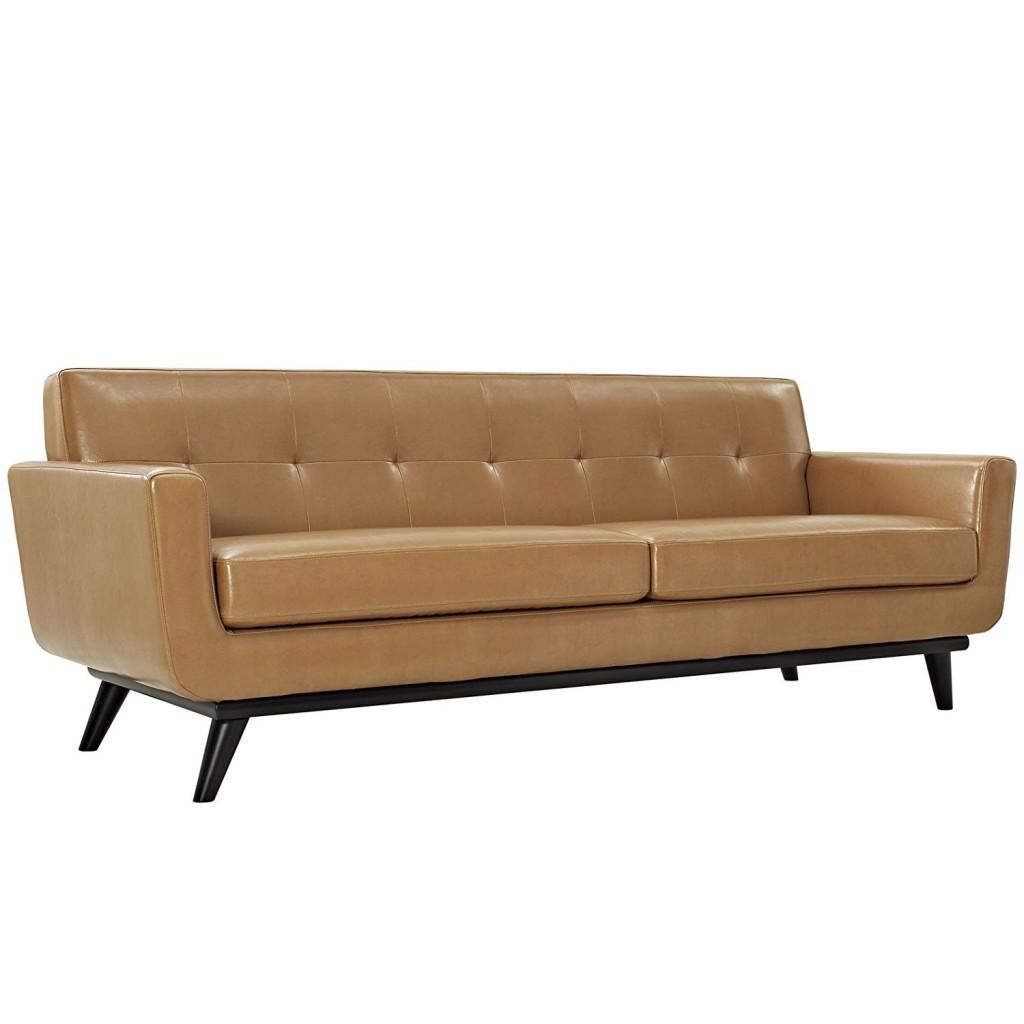 Modway Engage Leather Sofa