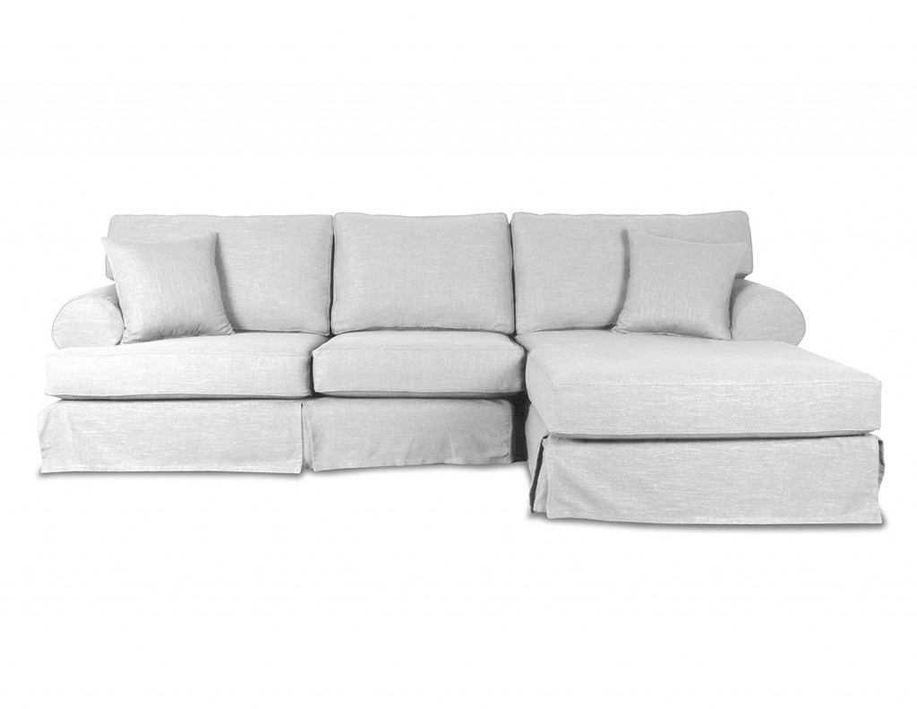 South Cone Home New York Linen Right Sectional Sofa