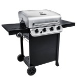 Char Broil 4 Burner Stainless Steel Gas Grill