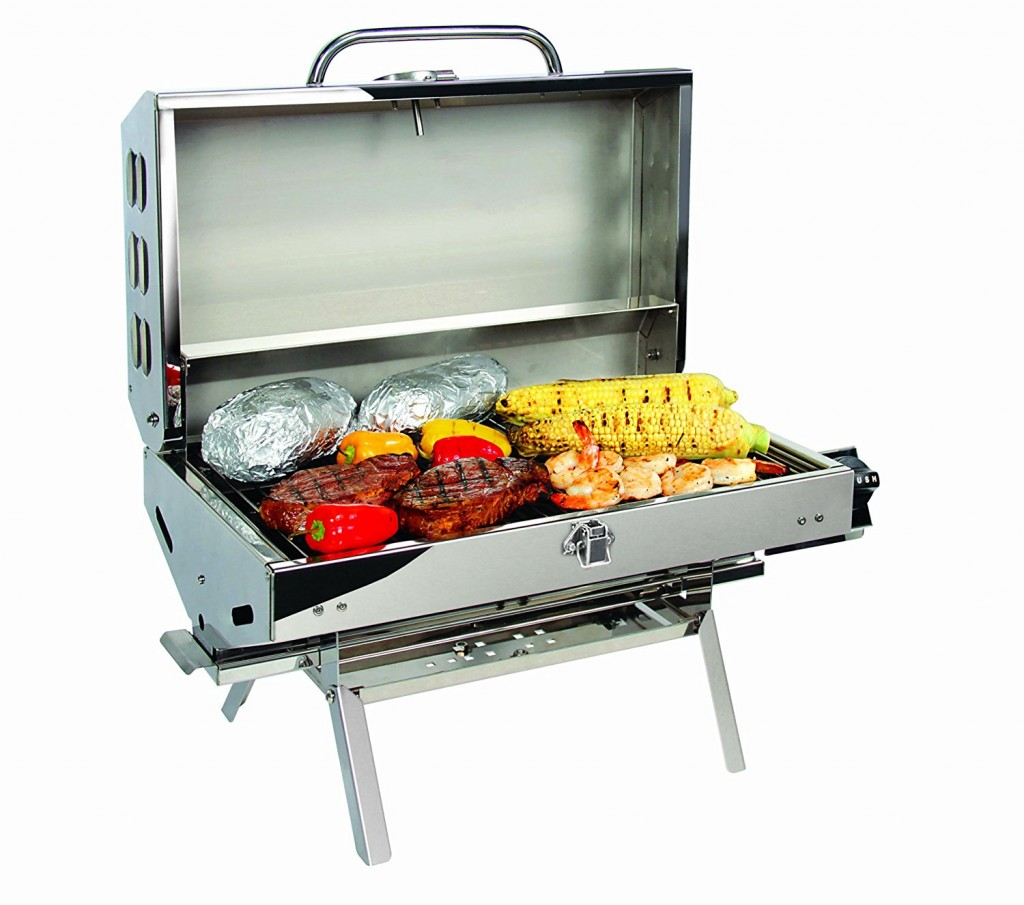 Connect Gas Grill To Charcoal