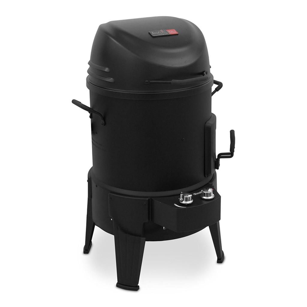 Gas Charcoal Smoker Combo Grill