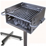 Park Style Charcoal Grill