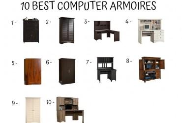 10 Best Computer Armoire