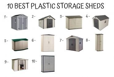10 Best Plastic Storage Sheds