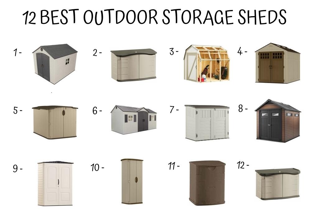 12 Best Outdoor Storage Sheds