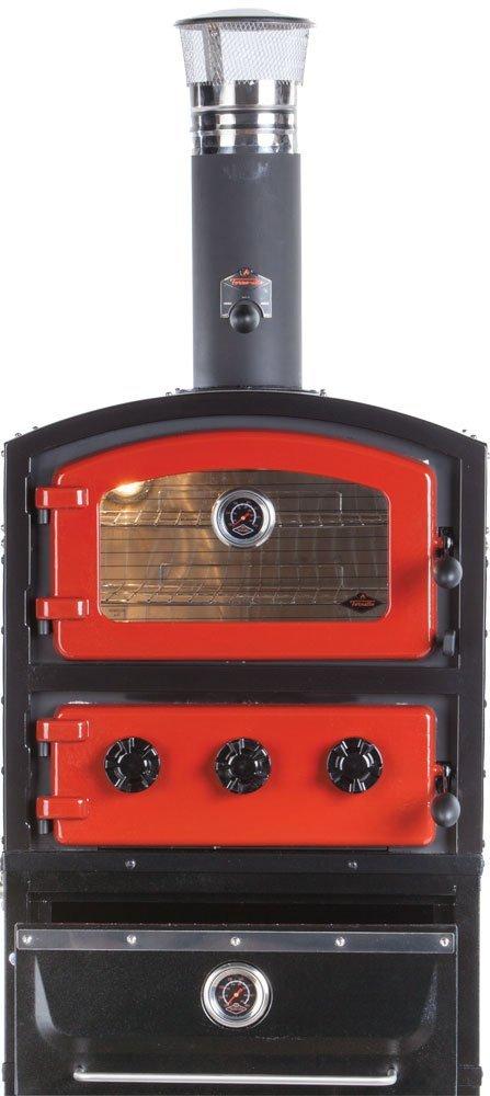 Alfresco Home 82 1004 Fornetto Alto Wood Fired Oven & Smoker