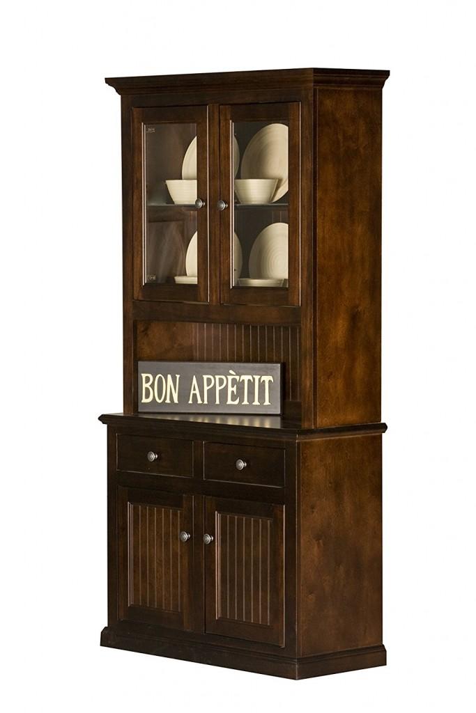 Antique Buffet Hutch