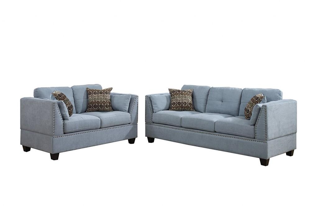 Blue Living Room Sets