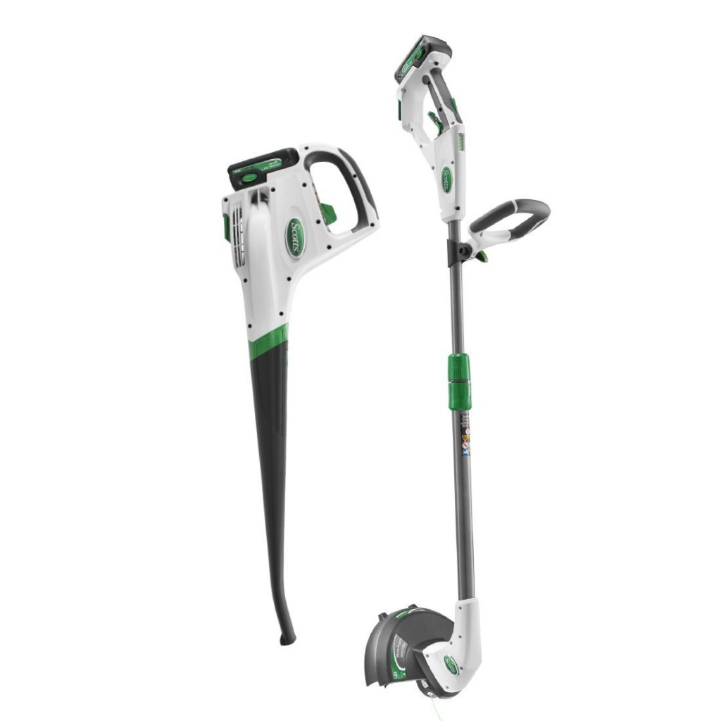 Electric Weed Eater And Edger Combo