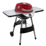 Red Gas Grill