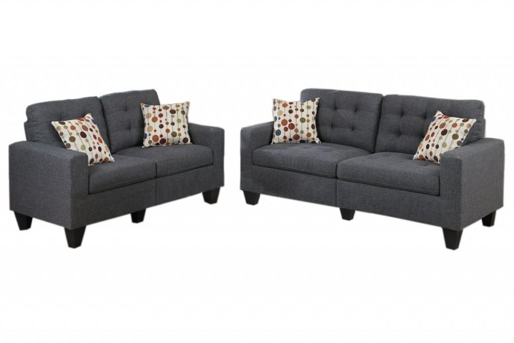 Tufted Living Room Set