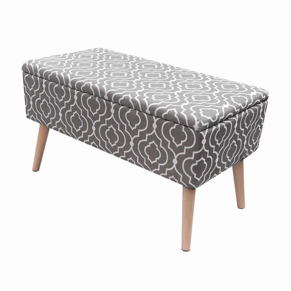 Vanity Bench With Storage