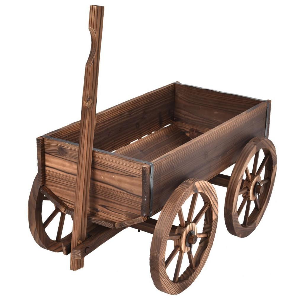 Wagon Wheels For Garden Decor
