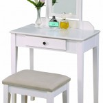 White Makeup Table