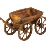 Wooden Garden Wagon