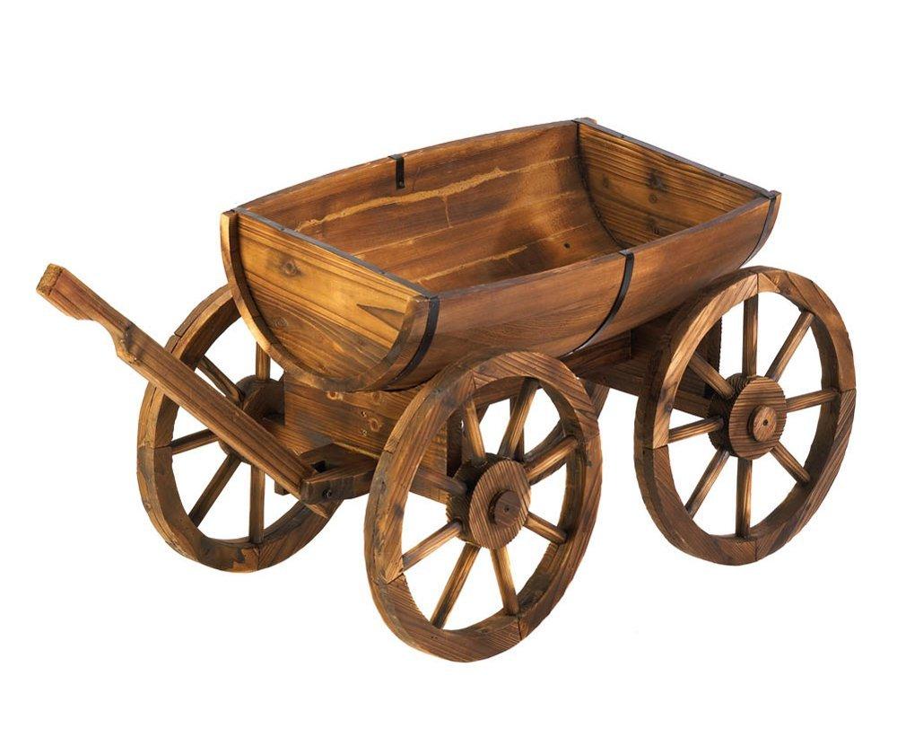 Wooden Garden Wagon