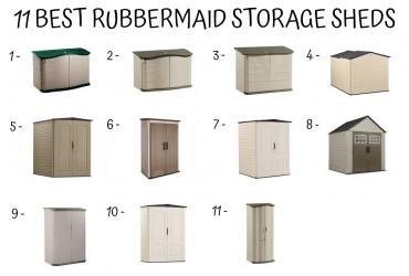 11 Best Rubbermaid Storage Sheds