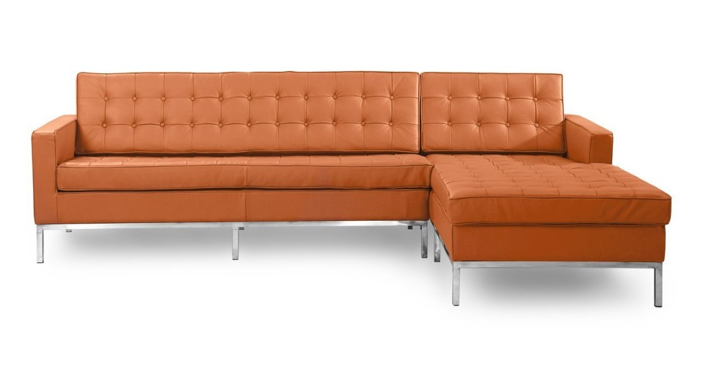 Camel Leather Couch