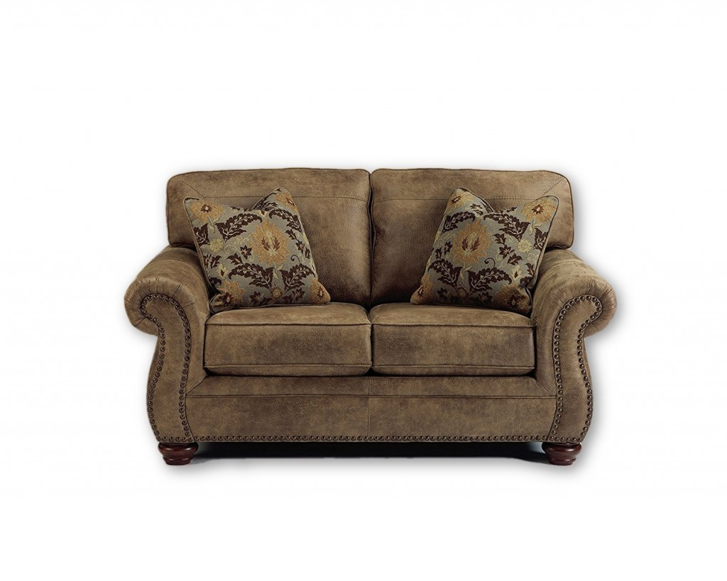 Rustic Leather Couch