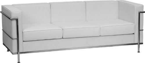 White Leather Couches For Sale