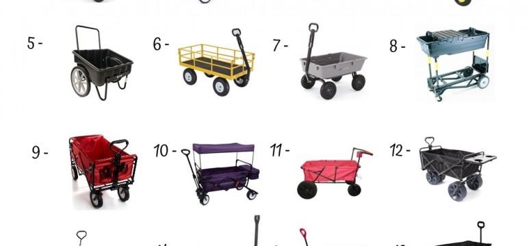 20 Best Garden Carts Under 200$