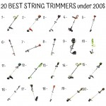 20 Best String Trimmers Under 200$