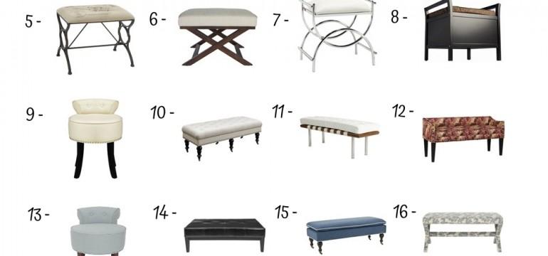 20 Best Vanity Benches Under 500$