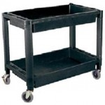 ATD Tools 7016 Heavy Duty Plastic 2 Shelf Utility Cart