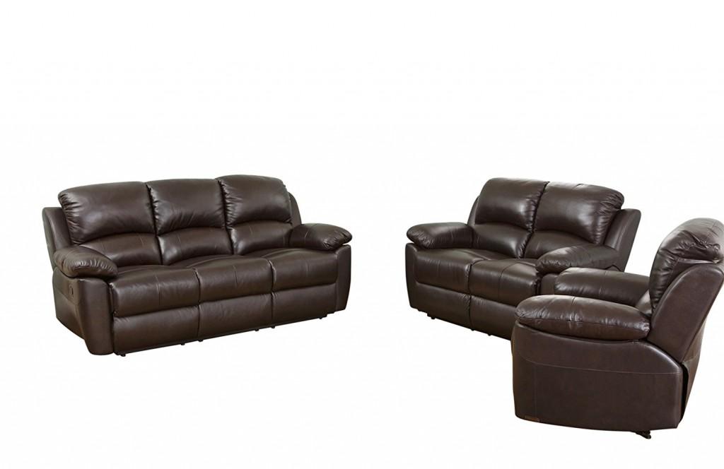 Abbyson Brody Leather Armchair