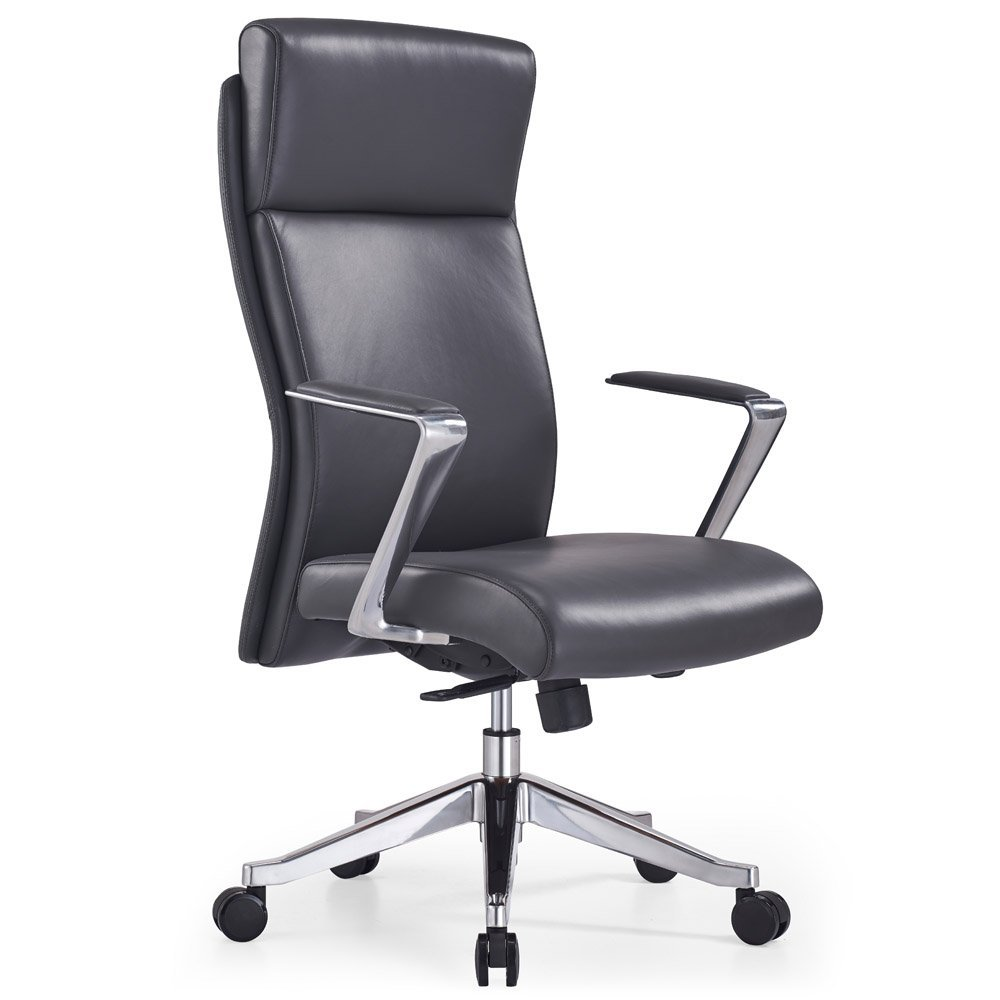 Adjustable Ergonomic Draper Leather Executive Chair