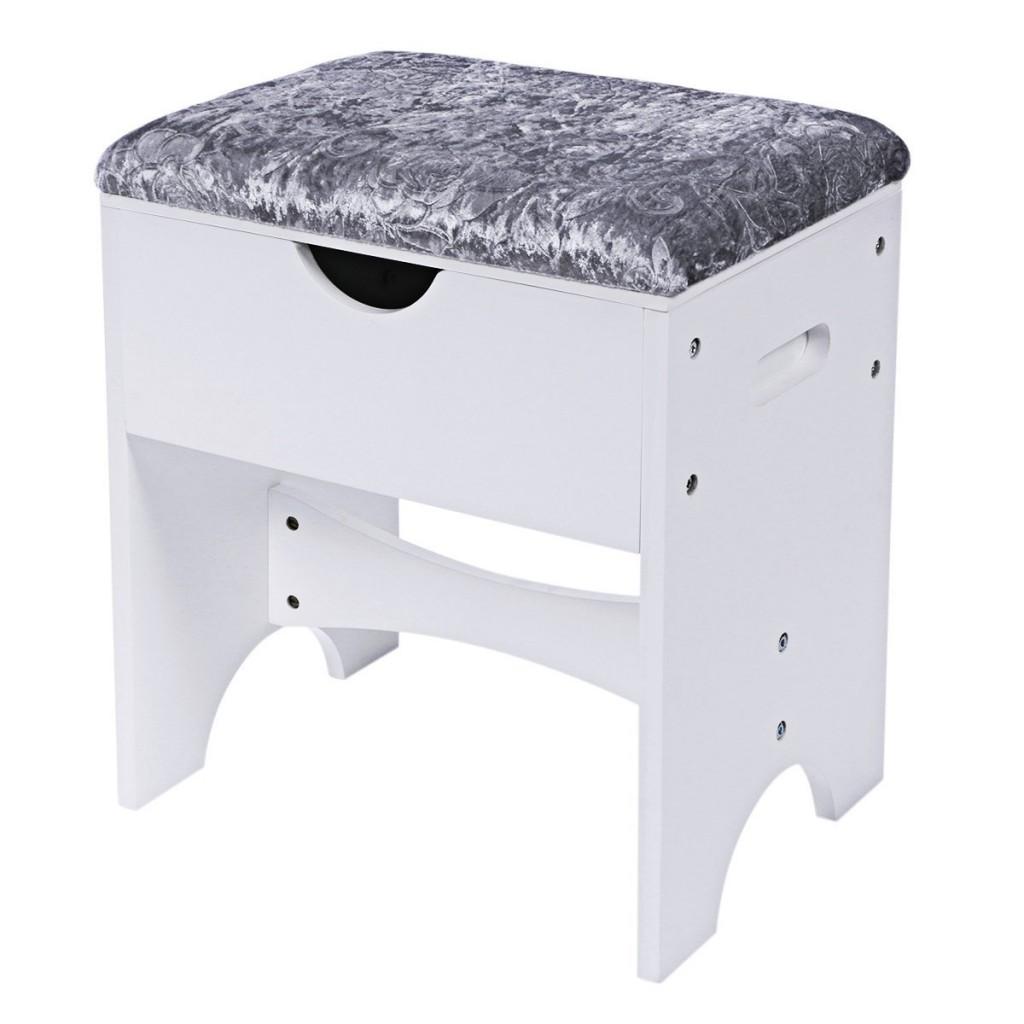 BEWISHOME Vanity Stool Piano Seat Makeup Bench