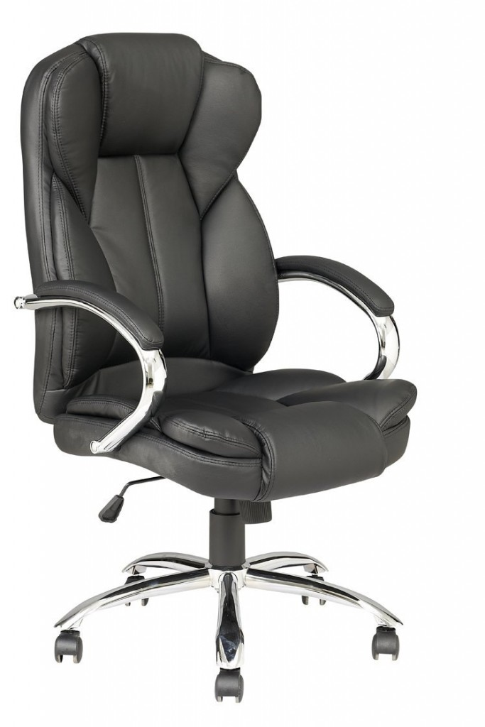 Black High Back PU Leather Executive Office Desk Task Computer Chair