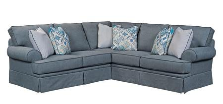 Broyhill Emily Collection Two Piece Sectional Sofa
