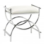 Curve Chrome Vanity Bench