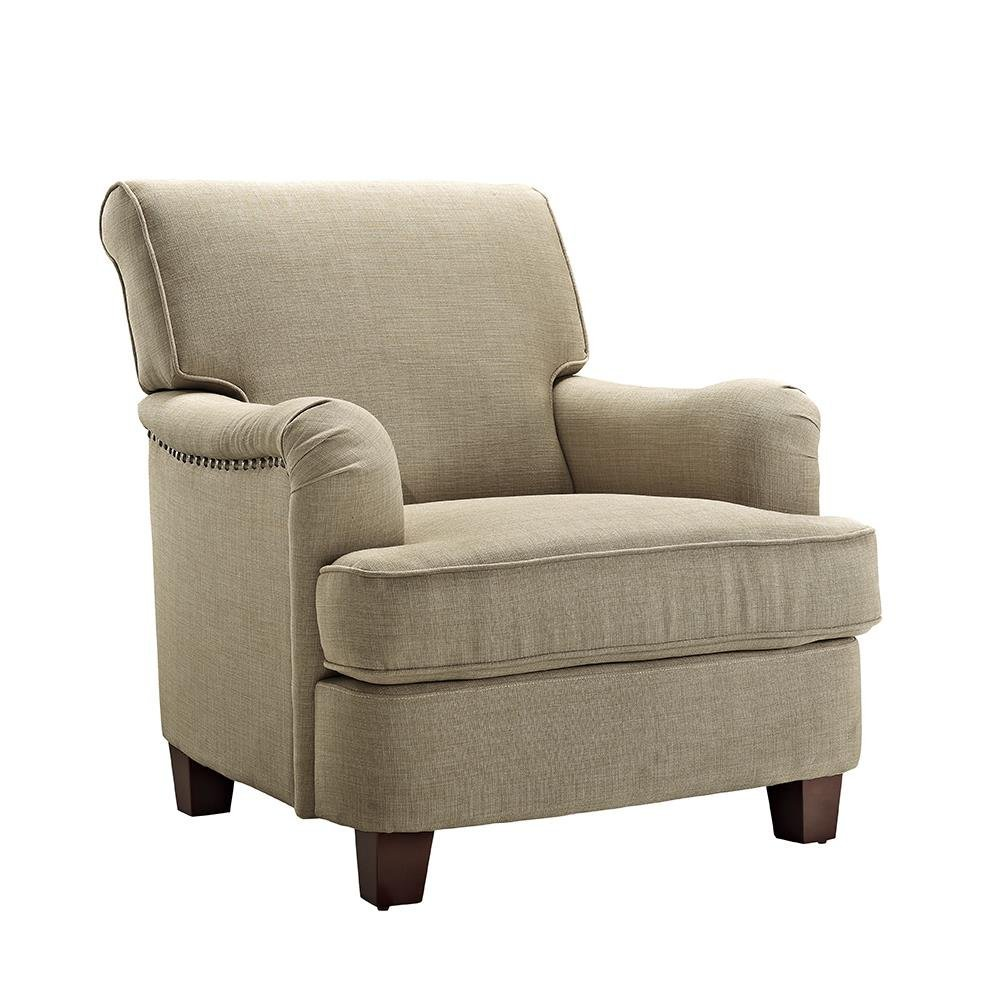 Dorel Living Rolled Top Club Chair