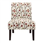 Dorel Living Teagan Armless Accent Chair
