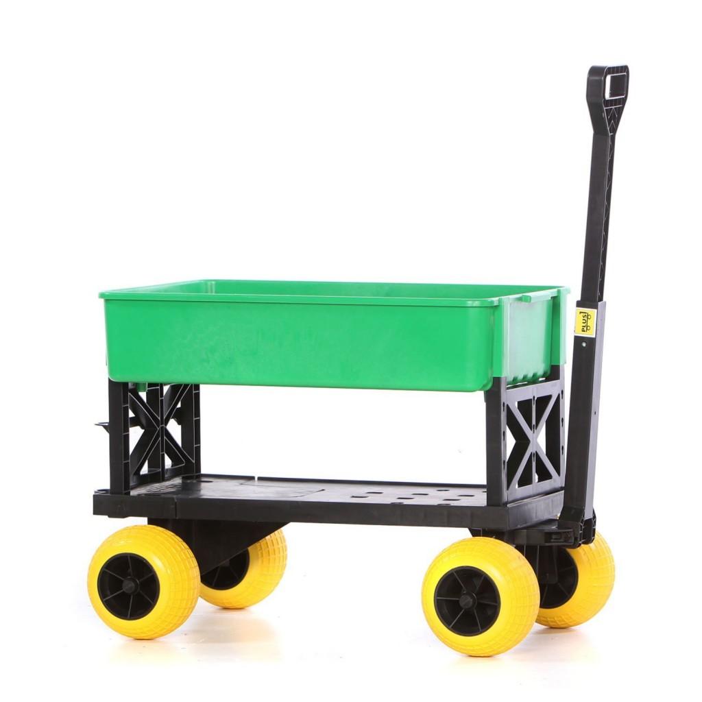 Gardening Cart Rolling Garden Seat Utility