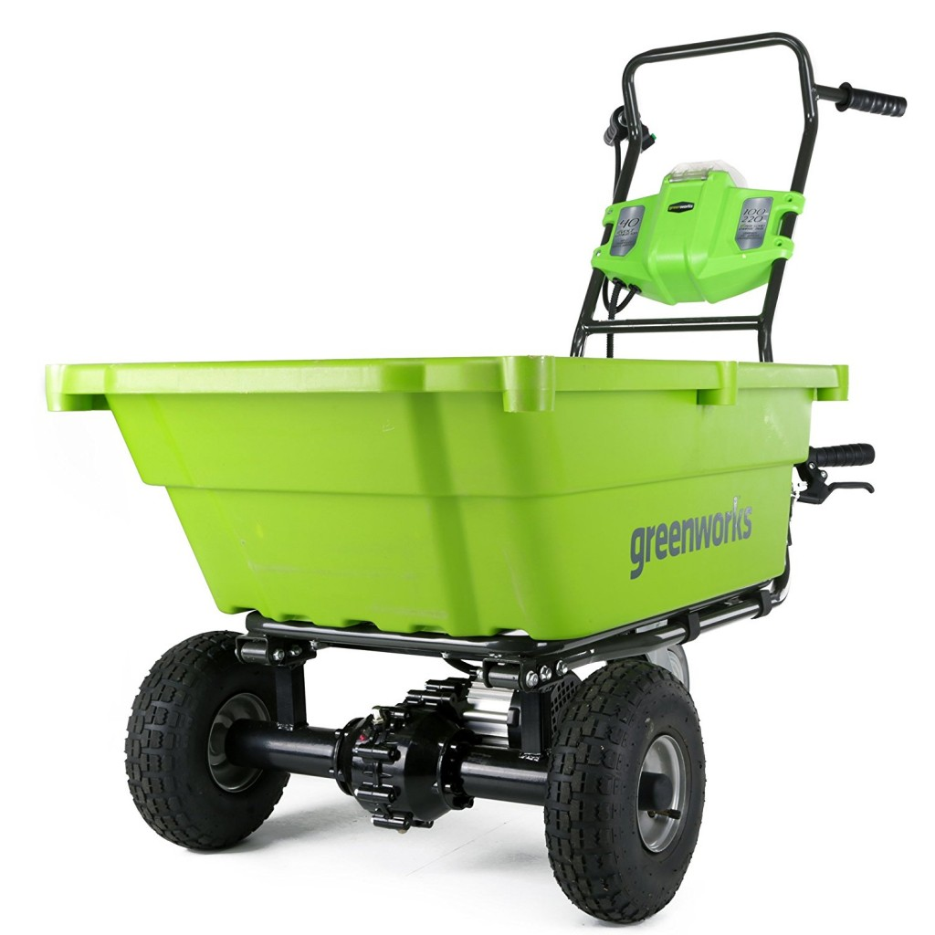 GreenWorks GC40L00 G MAX 40V Garden Cart