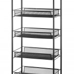 Halter Five Tier Rolling Mesh Storage Cart