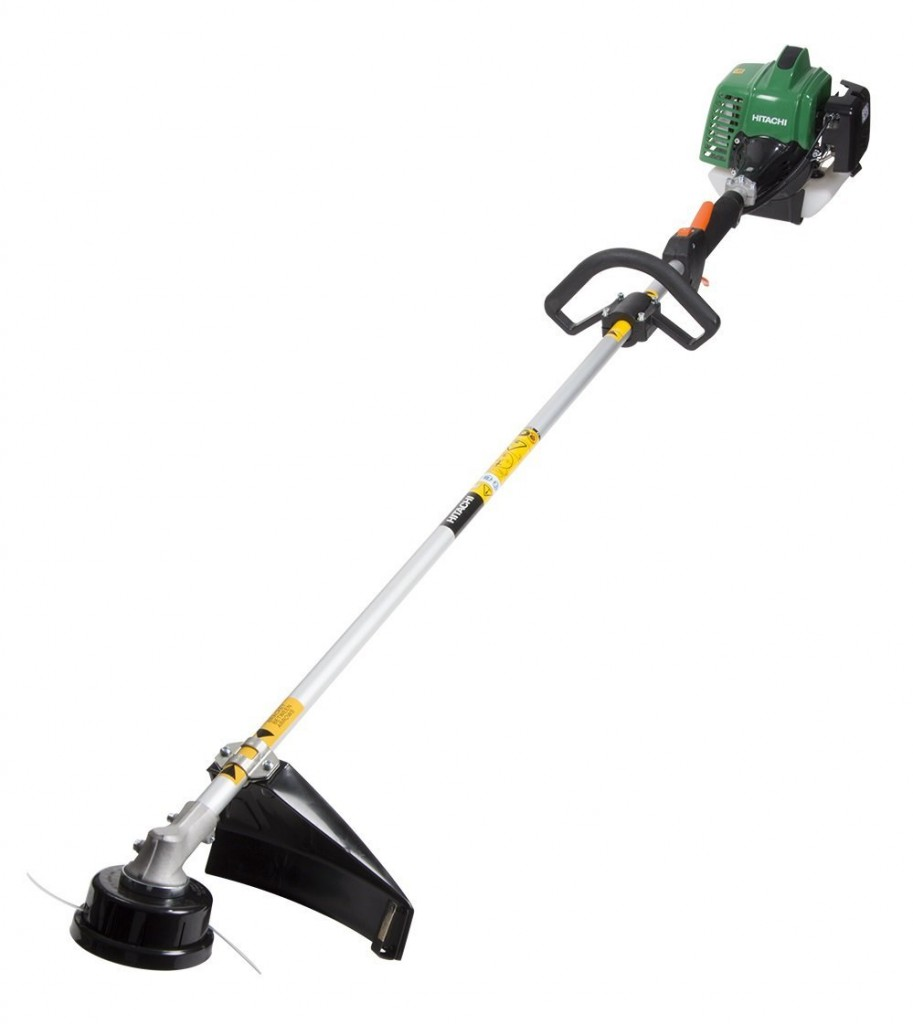 Hitachi CG23ECPSL 22.5cc 2 Cycle Gas Powered Solid Steel Drive Shaft String Trimmer