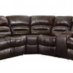 Homelegance 3 Piece Bonded Leather Sectional Reclining Nail Head Accent Sofa